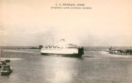 1895 - CAPE CHARLES Ferry/Steamboat runs between Spanish Fort & Mandeville