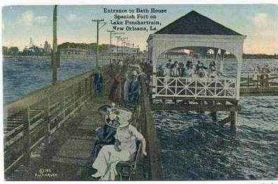 1912 Bath House at Spanish Fort