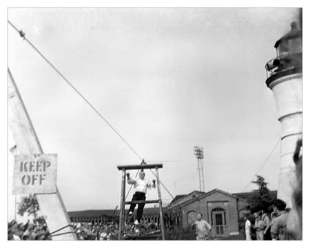 circa 1940 High Wire Act at Pontchartrain Beach
