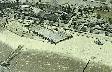 1950s? Pontchartrain Beach Aerial View