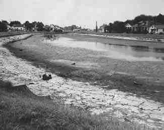 1955 - The Sewerage and Water Board drains Bayou St. John