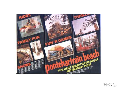 1970s Pontchartrain Beach Brochure (back)