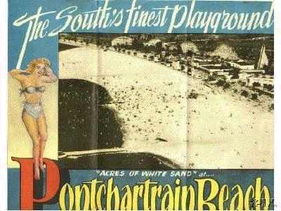 Brochure for Pontchartrain Beach-reverse side