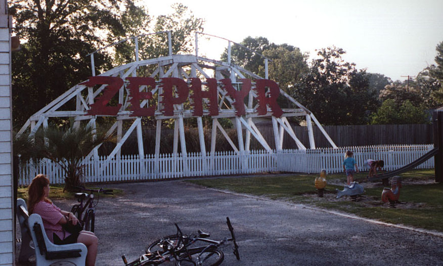 The Pontchartrain Beach Zephyr Top