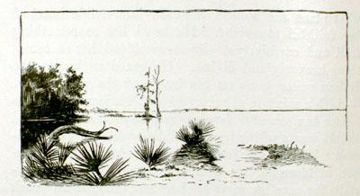1852 The Lake is depicted in Uncle Tom's Cabin
