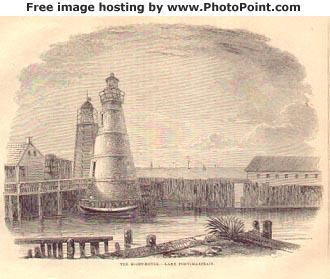 1858 Harper's Magazine writes about the Milneburg Lighthouse