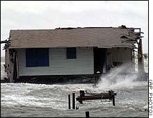 1998 - During Hurricane Georges, Camp Struggles to Survive