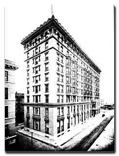 833 Poydras Street - Then the New Denechaud Hotel