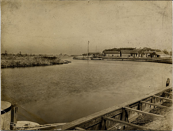1803 Bayou St. John reaches the city