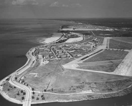 1948 U.S. Naval Air Station a.k.a. Camp Leroy Johnson & Pontchartrain Beach