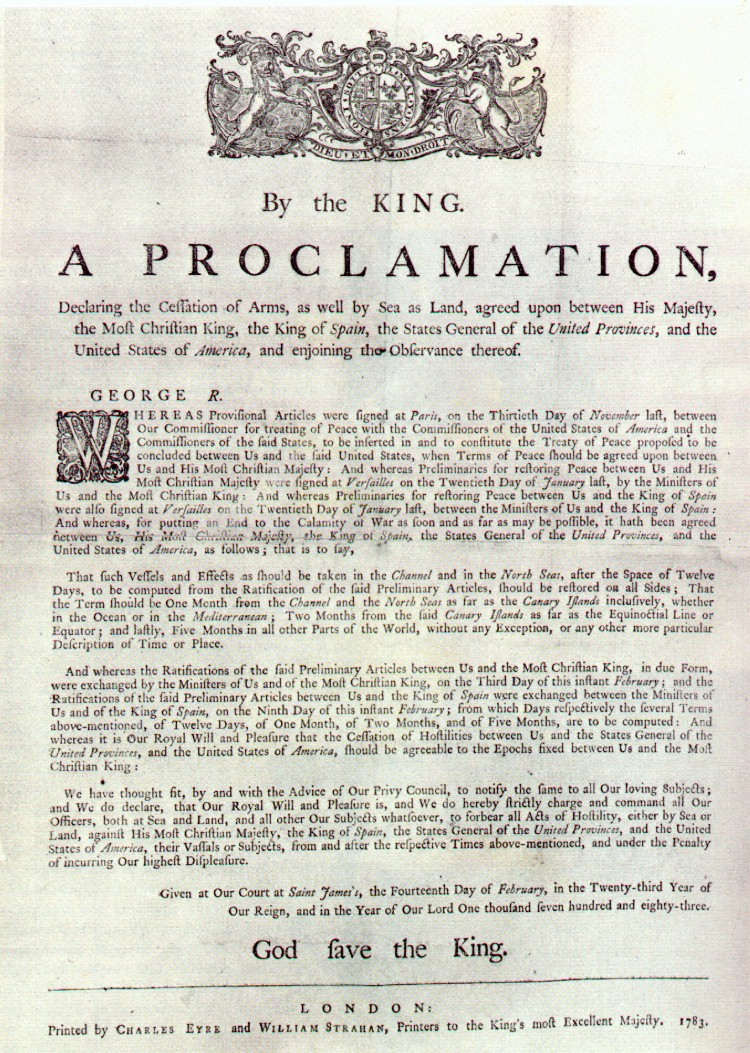 1763 The Treaty of Paris results in Spanish ownership of New Orleans